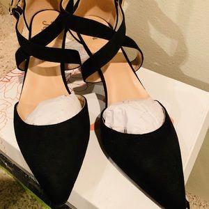 JC Dressy Shoes Gorgeous Black Size 11 in Box